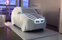 کلیپ نورپردازی زیبا روی ماشین BMW