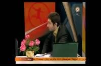 بوسیدن زن و مرد در  برنامه زنده شبکه ورزش