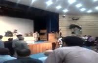 حمله به عارف در دانشگاه شیراز