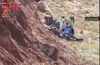 لحظه محاصره شدن دو رزمنده حشد الشعبی