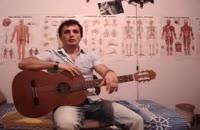 کلیپ هنری : آموزش گیتار - قسمت اول - تئوری و مفاهیم پایه ای