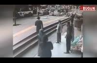 ویدیو؛ اتوبوسی که 12 نفر را در ترکیه زیر گرفت