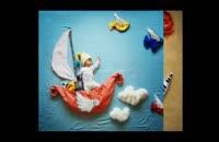 ابتکار و هنر نمایی یک مادر چینی برای فرزندش