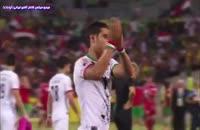 اشک های بازیکن های تیم ملی در بازی با عراق