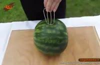 راحت ترین روش تهیه آب هندوانه