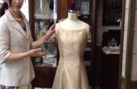 تزئین لباس عروس
