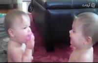 دعوا و کل کل دو نوزاد