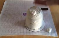 تزیین کیک به شکل شبح