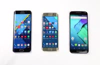تست سرعت سه گوشی Samsung Galaxy S6 edge+ vs. Galaxy S6 edge vs. Motorola Moto X