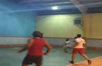 فوتبال بازی کردن امیر تتلو
