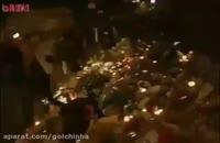 فرار اهالی پاریس از ترس بمب