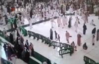 تازهترین ویدئو از لحظه سقوط جرثقیل بر روی زائران
