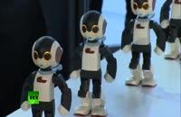 رقص 100 ربات !!!