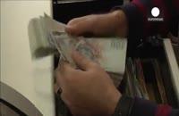 روند نزولی ارزش لیره ترکیه در برابر دلار آمریکا