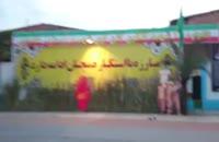 نمایی از مکان یادواره شهدای کوی آیت الله غفاری ره ساری