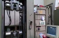 تست کشش استرند در آزمایشگاه کنترل کیفیت سازه امیرکبیر
