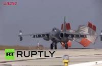حملات جنگنده روسی علیه داعش در سوریه