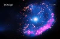 تصویری جدید از یک انفجار کیهانی