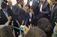 نیوشا ضیغمی ، رضا عطاران و حسن ریوندی در افتتاحیه نرم افزار ستاره ها