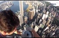 ثبت تصاویر سلفی برفراز برج های هنگ کنگ