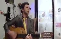 گیتار زدن زیبای امین حیایی