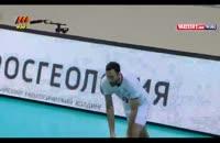 پیروزی تیم ملی والیبال ایران بر روسیه