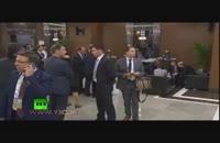استراق سمع مردی مرموز از مکالمه پوتین و اوباما!