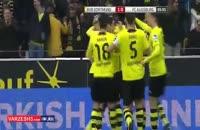 گلهای بازی دورتموند۲-۲آگزبورگ
