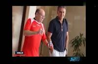 خداحافظی علی کریمی با تیم ملی
