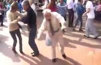 رقص حرفه ای توسط پیرمرد !!!!