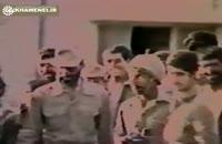 حضور رهبر انقلاب در جمع مدافعان شهر آبادان، خرداد ۶۰