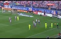 درگیری در بازی اتلتیکومادرید-بارسلونا