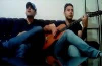 اجرای زنده از خودم و گیتار دوست خوبم