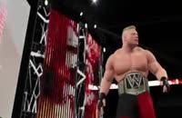 انتشار تریلری جدید و تماشایی از گیم پلی عنوان WWE 2k15