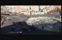 کاروان اسکورت پوتین در میدان جمهوری.