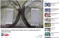 آیفون های جدید اپل ضد آب هستند