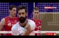 حاشیه های بازی والیبال ایران و روسیه