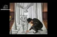 ۴ نقاشی سه بعدی باور نکردنی!