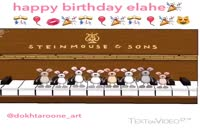 هرکی تولدشه تولدش مبارک