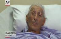 عمل جراحی نامتعارف دست یک مرد