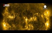 تصاویر شگفتانگیز ناسا از سطح خورشید