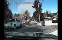 لحظه انفجار خط لوله گاز طبیعی در آمریکا