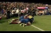 گلهای لیونل مسی در فینال جام حذفی اسپانیا