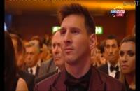 فیلم و ویدیو کریستین رونالدو برنده توپ طلای سال 2014 شد