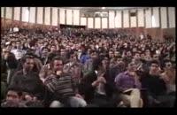 دفاع زیبا کلام از رضا خان و حذف مرگ بر آمریکا و واکنش دانشجویان