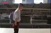 نظافت مترو در ژاپن تمیزکاری سریع