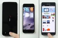 تست سرعت بین سه گوشی Note ۴ ،Nexus ۶ با iPhone ۶