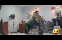 دوربین مخفی خنده دار از آرایشگاه زنانه!