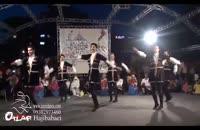 اجرای رقص آیینی آذربایجان توسط گروه آیلان در جشنواره حرکات آیینی تهران