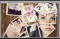 آموزش تبدیل عکس به کولاژ در فتوشاپ
